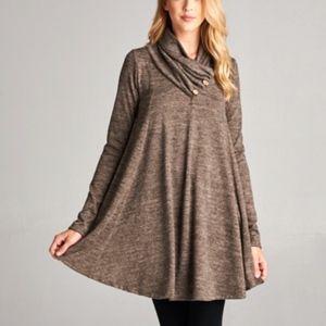 🍁 Plus size Cozy Tunic Sweater 🍁